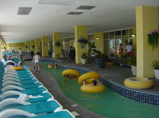 Water Park At Camelot By The Sea 200 Ft Heated Indoor Lazy River