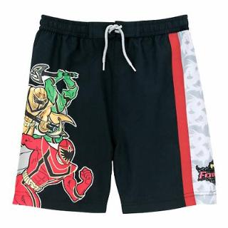 power rangers swimsuit shorts