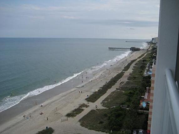 Direct Ocean Front Balcony At Camelot Myrtle Beach