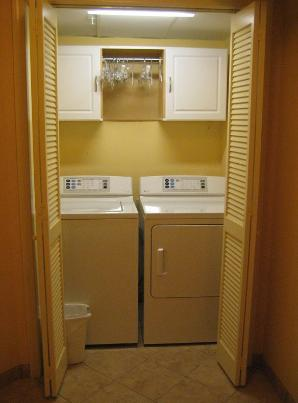 Your Own Wahing Machine and Dryer.  Inside the unit. Upgraded GE Appliances.